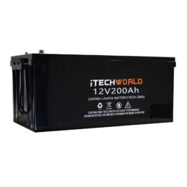 Lithium Ion Battery iTECH200 12v 200Ah Deep Cycle