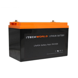 Lithium Battery iTECH120X Water Proof to IP67. 270Amp